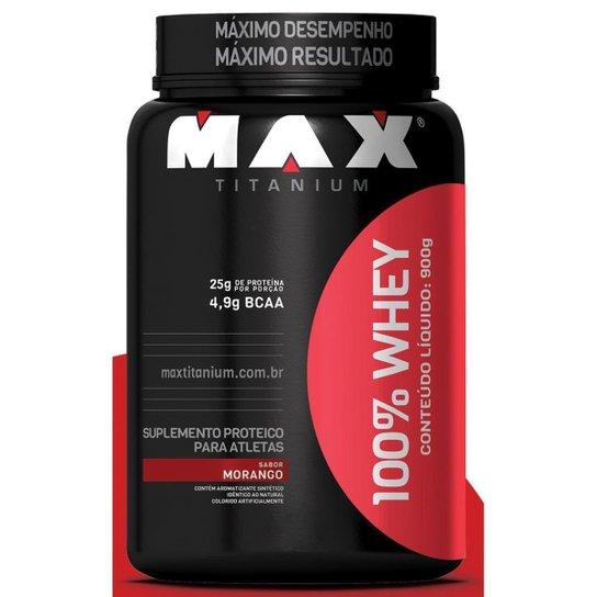 100% Whey Protein Max Titanium 900 g -