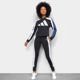 Agasalho Adidas Big Logo Feminino