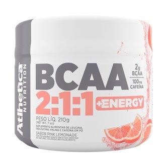 BCAA 2:1:1 + Energy 210G - Atlhetica Nutrition