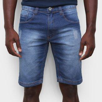 Bermuda Jeans Ecko Estonada Masculina