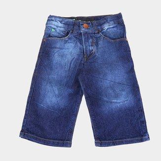 Bermuda Jeans Infantil HD Masculina