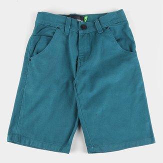 Bermuda Jeans Infantil HD Walk Básica Masculina