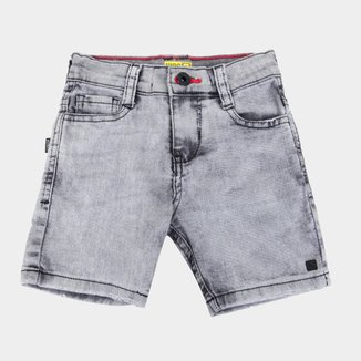 Bermuda Jeans Infantil Nicoboco Yucatan Masculina
