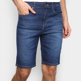 Bermuda Jeans Lacoste Relax Fit Reta Masculina
