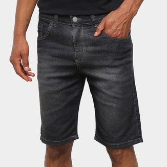 Bermuda Jeans Polo Wear Básica Masculina