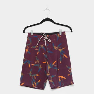 Bermuda Juvenil Hang Loose Tropicool Masculina