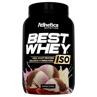 Best Whey Iso Protein Atlhetica Nutrition 900g
