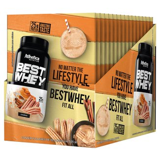 Best Whey Protein Atlhetica Nutrition 15 Unidades