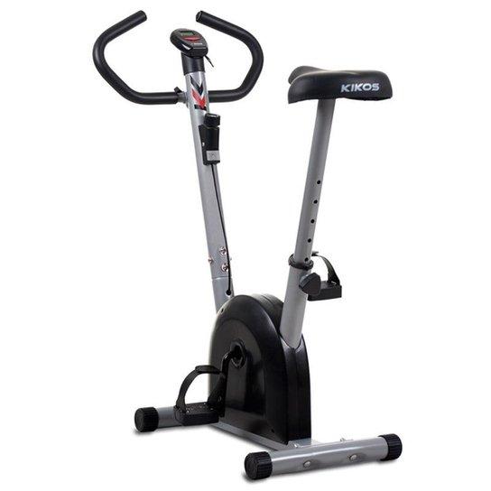 Bicicleta Ergométrica Kikos 3015 - Preto+Prata