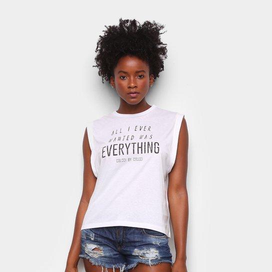 Blusa Colcci Everything Feminina - Off White