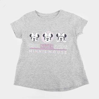 Blusa Infantil Disney Cool Never Stops Minnie Feminina