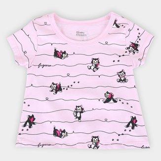 Blusa Infantil Disney Fígaro Feminina