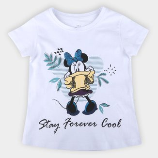 Blusa Infantil Disney Forever Minnie Feminina