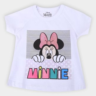 Blusa Infantil Disney Minnie Feminina