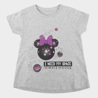 Blusa Infantil Disney Minnie Space Feminina