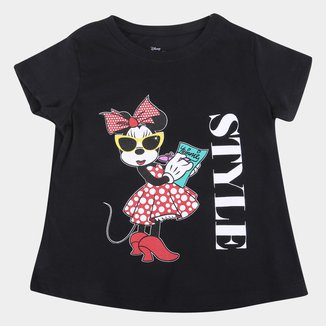 Blusa Infantil Disney Minnie Style Feminina