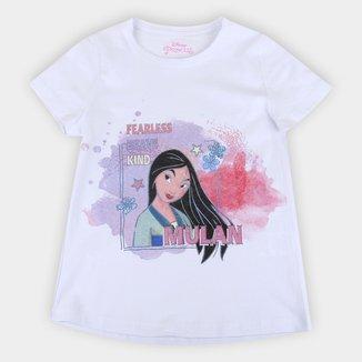 Blusa Infantil Disney Mulan Fearless Feminina