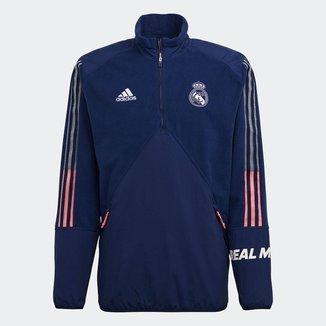 Blusa Real Madrid Viagem 21/22 Adidas Masculina