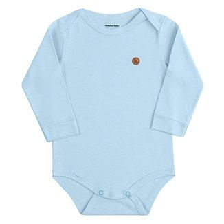 Body Bebê Kamylus Manga Longa Feminino