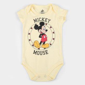 Body Bebê Marlan Disney Mickey Mouse Masculino