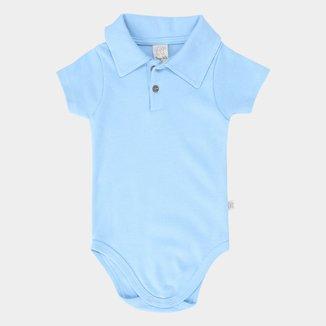 Body Bebê Pingo Lelê Gola Polo