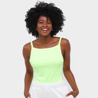 Body Roxy Fluorescente Alcinha