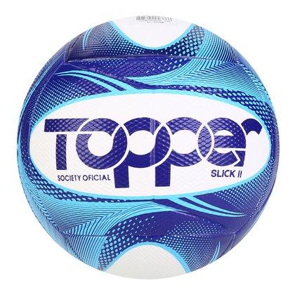 Bola De Futebol Society Slick II 19 Topper Exclusiva