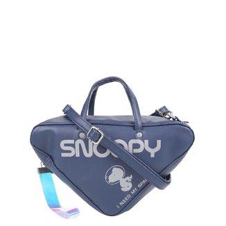 Bolsa Snoopy Handbag Triangular Feminina