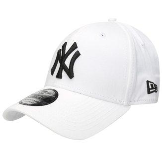 Boné New Era MLB 3930 Hc Black On White New York Yankees