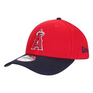 Boné New Era MLB Los Angeles Angels Aba Curva Snapback Masculino