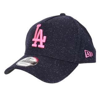 Boné New Era MLB Los Angeles Dodgers Aba Curva Snapback A-Frame Rave Space Stars 9Forty