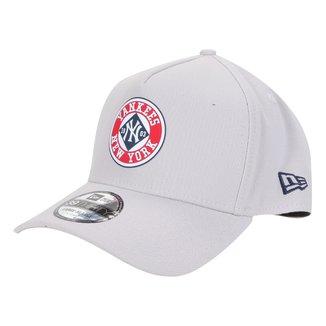Boné New Era MLB New York Yankees Aba Curva A-Frame College Vintage 39Thirty