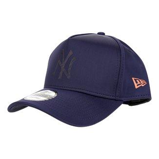 Boné New Era MLB New York Yankees Aba Curva Snapback 940 Fresh Graphic