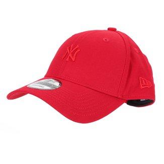 Boné New Era MLB New York Yankees Aba Curva Snapback Mini Logo 9Forty