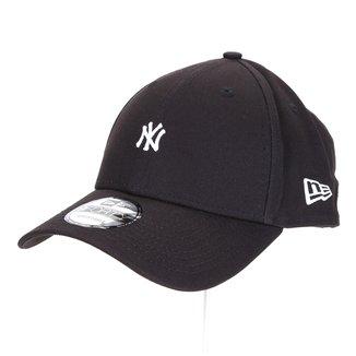 Boné New Era New York Yankees Aba Curva Snapback 940 Sn Minilogo