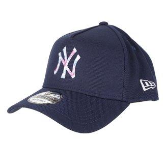 Boné New Era New Yotk Yankees Aba Curva Snapback 9Forty Af Sn Botany Sublime
