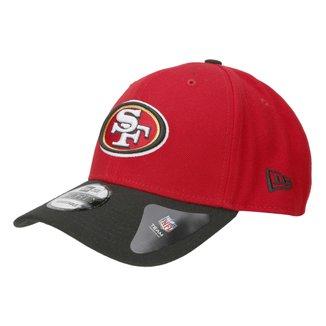 Boné San Francisco 49ers New Era Aba Curva NFL 940 Hc Sn Basic
