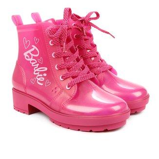 Bota Coturno Infantil Grendene Kids Barbie Feminina