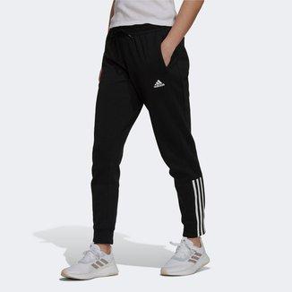 Calça Adidas Doubleknit 3 Listras Feminina