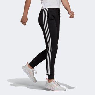 Calça Adidas Essentials Slim 3 Listras Feminina