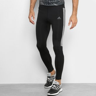 Calça de Compressão Adidas Run It 3-Stripes Masculina