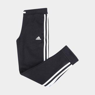 Calça Infantil Adidas Essentials 3 Stripes Feminina