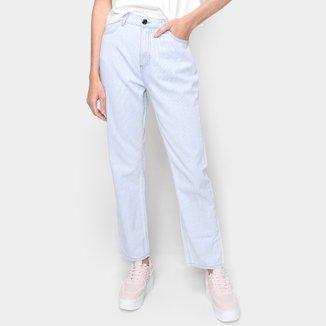 Calça Jeans Dzarm Cintura Alta Feminina