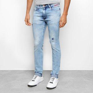 Calça Jeans Ecko Slim Conf Masculina