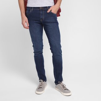 Calça Jeans Ecxo Cintura Média
