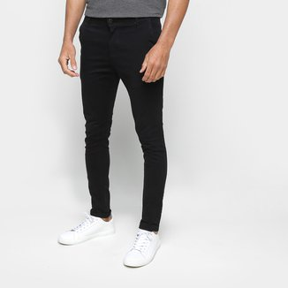 Calça Jeans Ecxo Lisa Masculina