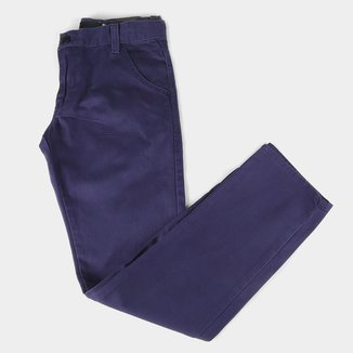 Calça Jeans Infantil HD Color Básica Masculina