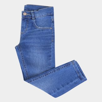 Calça Jeans Infantil Hering Básica Feminina