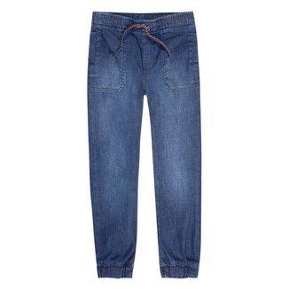 Calça Jeans Juvenil Hering Cordão Masculina