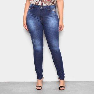Calça Jeans Plus Size Biotipo Basic Feminina